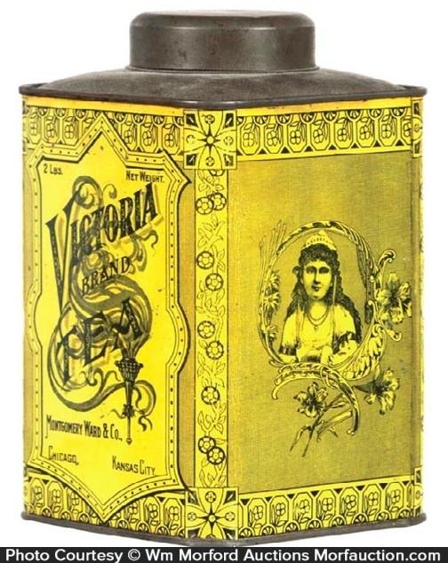 Victoria Tea Tin