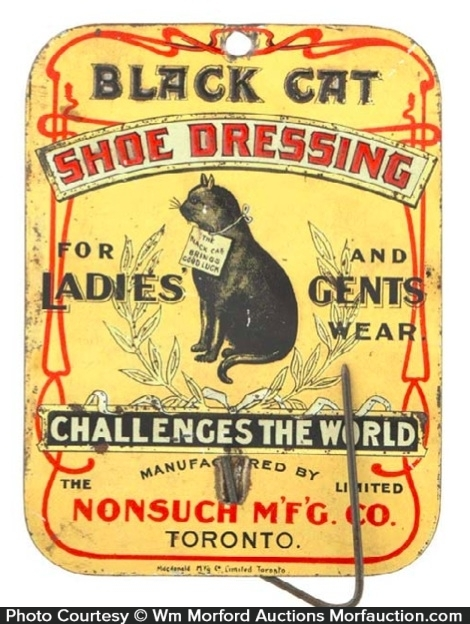 Black Cat Shoe Dressing Bill Hook
