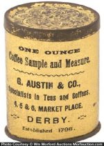 Austin Coffee Sample Tin