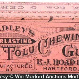 Hoadley's Tolu Gum Tin