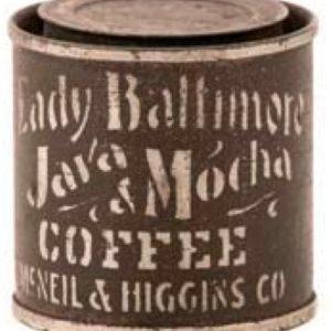 Lady Baltimore Coffee Sample Tin
