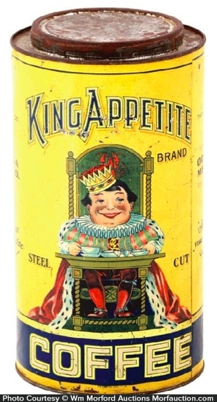 King Appetite Coffee Can