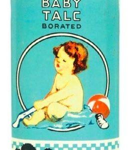 Mansco Baby Talc Tin