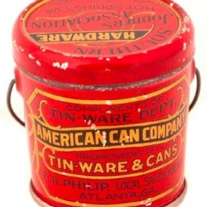 American Can Company Sample Pail