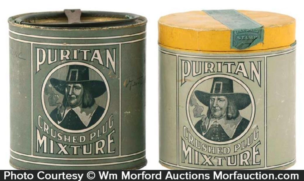 Vintage Puritan Tobacco Tins
