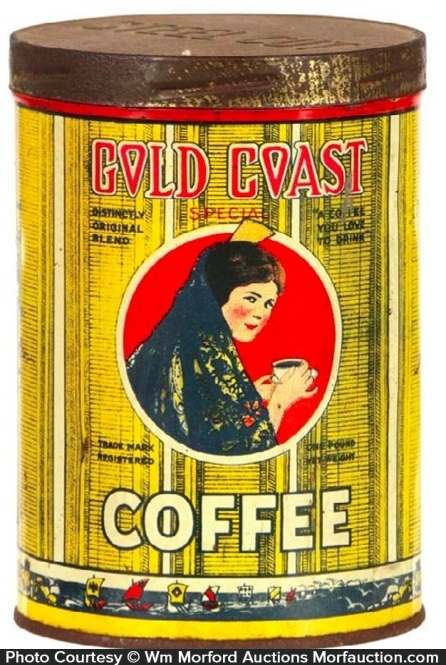 Gold Coast Coffee Can