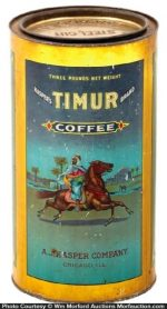 Timur Coffee Can