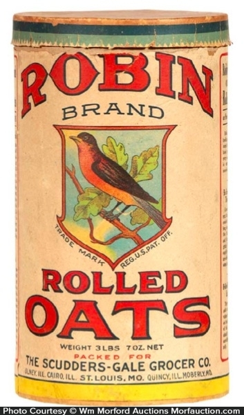 Robin Oats Box