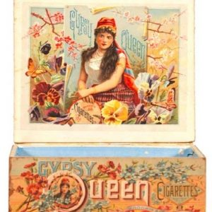 Gypsy Queen Cigarettes Box