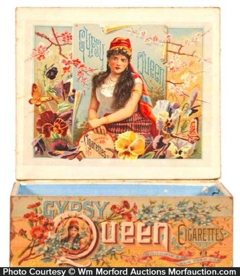 Gypsy Queen Cigarettes Box