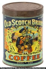 Old Scotch Coffee Can