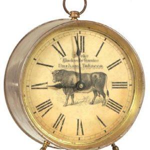 Durham Tobacco Clock