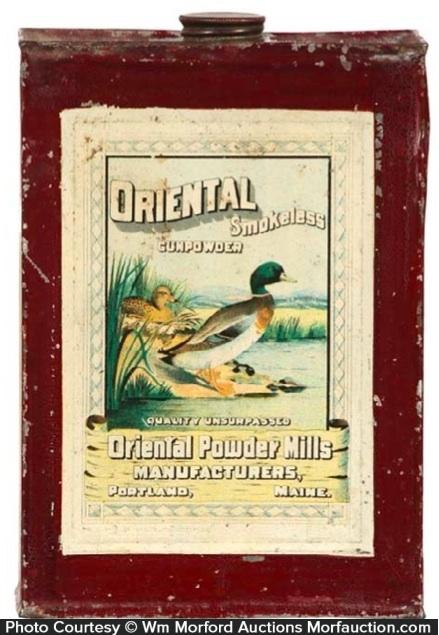Oriental Gunpowder Tin