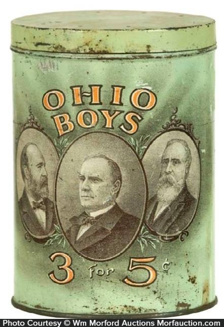 Ohio Boys Cigar Tin