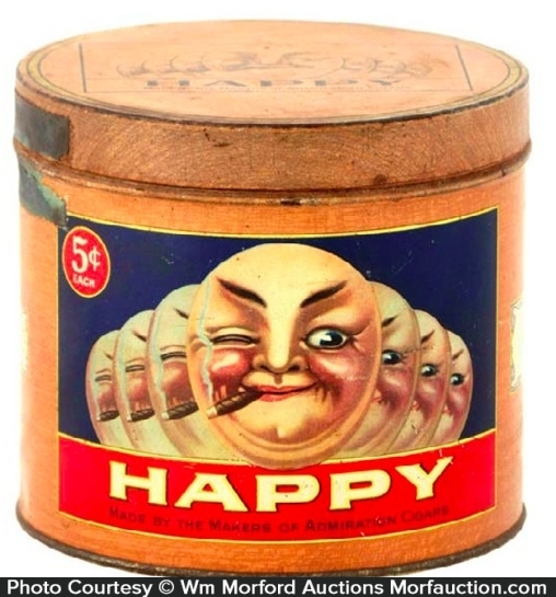 Happy Cigar Can