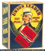 Union Leader Tobacco Display Box