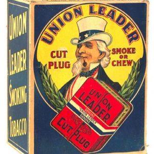 Union Leader Tobacco Display Box