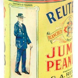 Reuter's Peanuts Tin