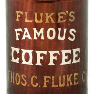 Fluke's Famous Coffee Tin