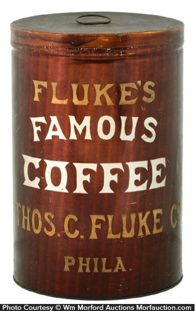 Fluke's Famous Coffee Tin