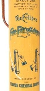 Eclipse Fire Extinguisher Tin