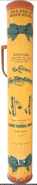 Eclipse Fire Extinguisher Tin