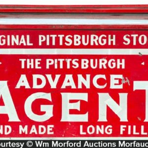 Pittsburgh Stogie Display Tin