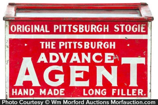 Pittsburgh Stogie Display Tin