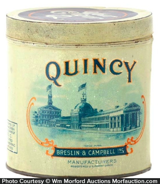 Quincy Cigar Can
