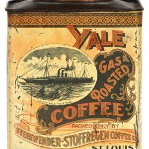 Yale Coffee Tin