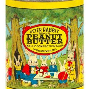 Peter Rabbit Peanut Butter Tin
