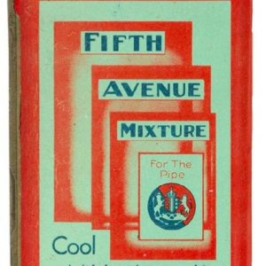 Fifth Avenue Tobacco Tin