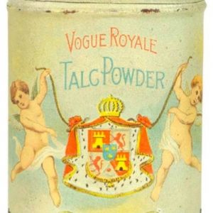 Vogue Royale Talc Tin