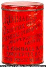 Kimball's Chewing Tobacco Tin