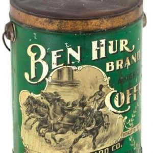 Ben Hur Coffee Pail