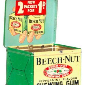 Beech-Nut Gum Tin