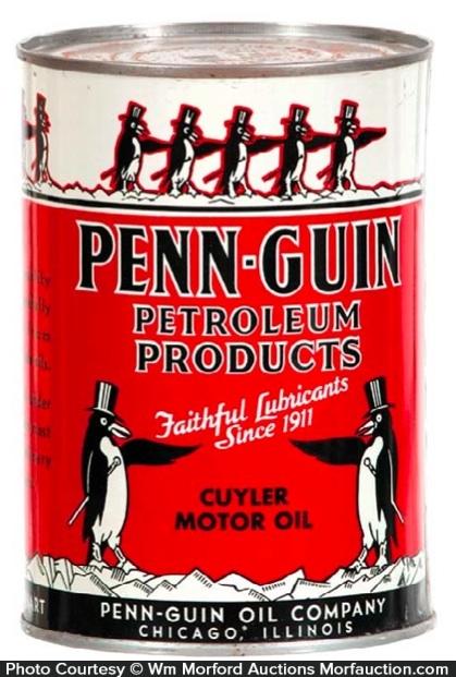 Penn-Guin Oil Can