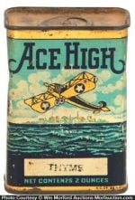 Ace High Spice Tin