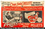 Pratt's Crop-Solid Pellets Sign