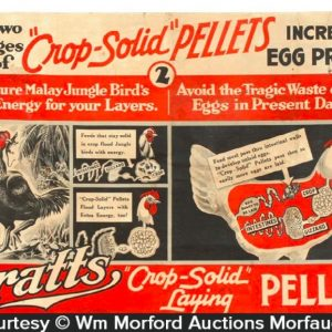 Pratt's Crop-Solid Pellets Sign