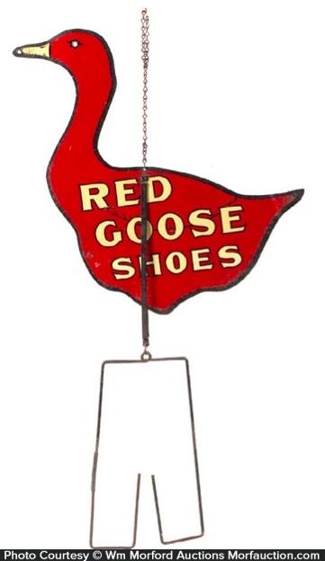 Red Goose Shoes String Holder