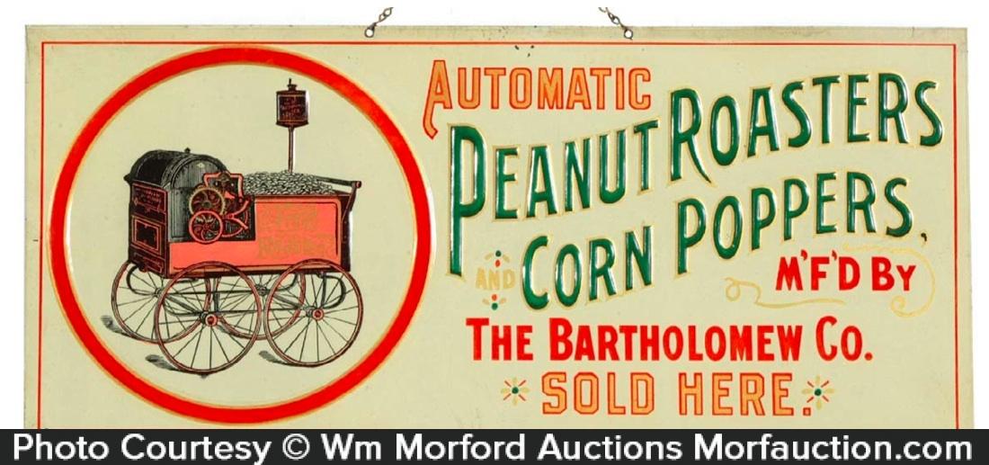 Bartholomew Peanuts Sign