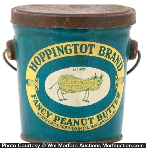 Hoppingtot Peanut Butter Pail