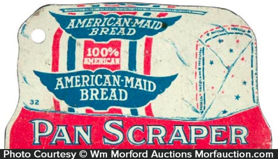 American Maid Bread Pot Scrapper