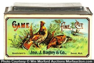 Game Fine Cut Tobacco Bin