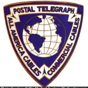 Postal Telegraph Co. Badge