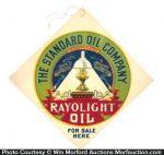 Standard Rayolight Oil Sign