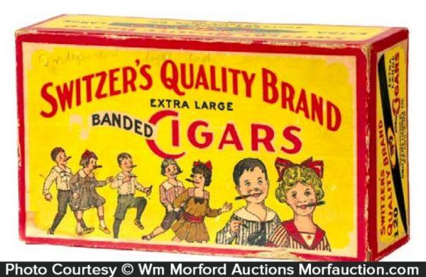 Switzer's Candy Cigars Box
