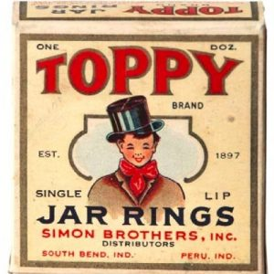 Toppy Jar Rings Box