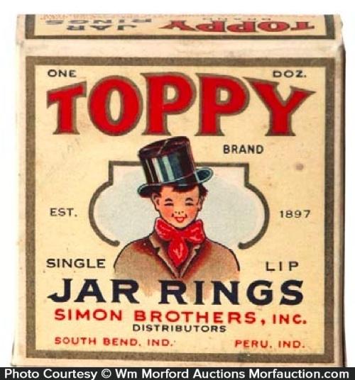 Toppy Jar Rings Box